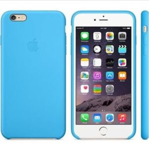 MGRH2ZM/A Apple iPhone 6/6S Plus Silicone Cover Blue