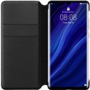 Pouzdro Huawei Original Wallet P30 černé