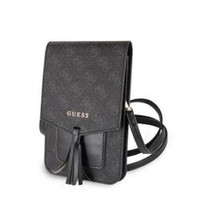 Pouzdro Guess GUWBSQGBK 4G Wallet Universal Black