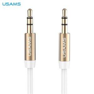USAMS YP-01 Audio Kabel 3,5/3,5mm White