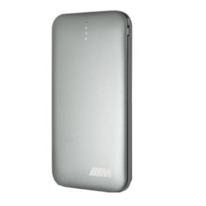BMW – Power Bank 8000 Mah Dark Grey Aluminum