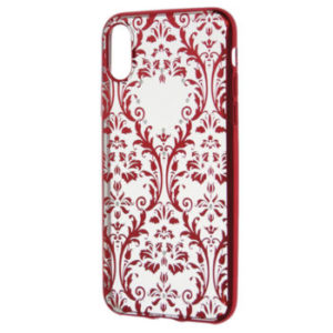Zadní kryt Devia Crystal Soft Case Baroque iPhone X red