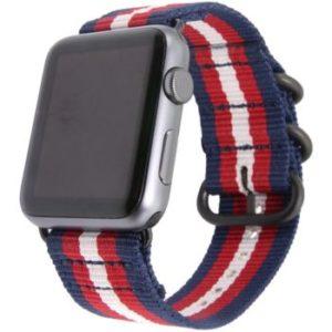 Eternico Látkový Řemínek pro Apple Watch 1/2/3/4/5/6/SE 42/44 Blue