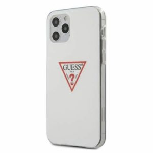 GUESS GUHCP12LPCUCTLWH IPHONE 12 PRO MAX 6,7″ WHITE HARDCASE TRIANGLE COLLECTION