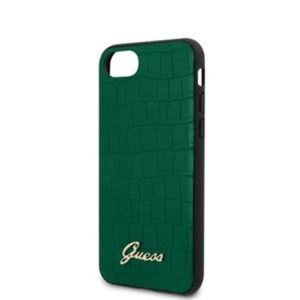 Guess GUHCI8PCUMLCRDG Croco iPhone 8/SE2020 Green