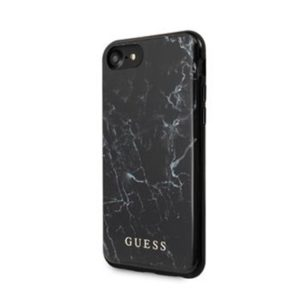 GUHCI8PCUMABK Guess Marble Kryt pro iPhone 8/SE2020 Black