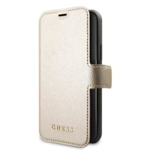 Guess GUFLBKSN58IGLGO Iridescent Case  iPhone 11 Pro Gold