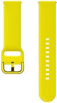 Tactical Silikonový Řemínek UNI 20mm Yellow