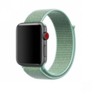 Tactical 550 Látkový Řemínek pro Apple Watch 1/2/3/4/5/6/SE 38/40mm Green