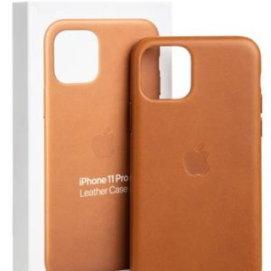 Original Apple Leather MWYD2ZM/A  iPhone 11 Pro Saddle Brown