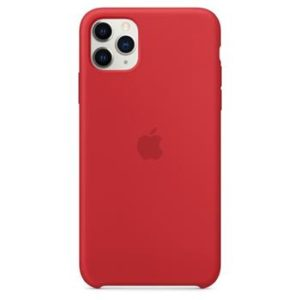 Original Apple Silicone MWYV2ZM/A  iPhone 11 Pro Max Red
