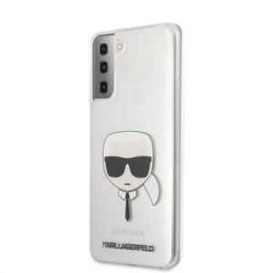 Zadní Kryt KLHCS21SKTR Karl Lagerfeld PC/TPU Head Samsung Galaxy S21 Transparent