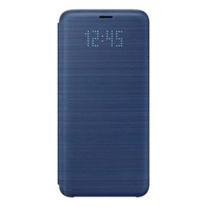 Pouzdro EF-NG960PLE Samsung LED View G960 Galaxy S9 Blue