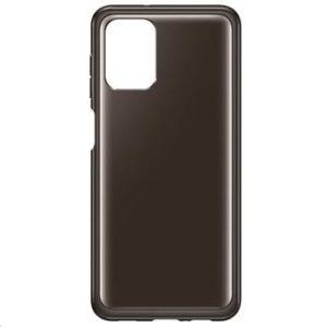 EF-QA125TBE Samsung Soft Clear Kryt pro Samsung Galaxy A12 Black
