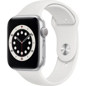 Apple Watch Series 6 44mm Silver White Sport