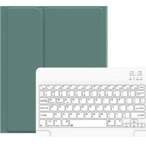 USAMS BH655 Kryt s Klávesnicí pro iPad Air 10.9 Green/White