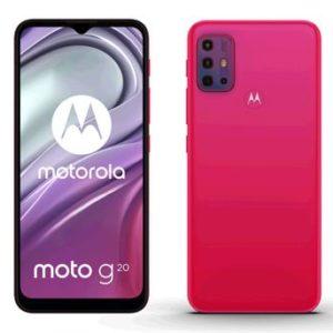 Motorola Moto G20 4/64GB NFC DS Flamingo Red