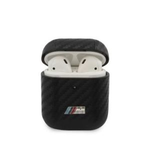 BMA2WMPUCA BMW M Carbon Pouzdro pro Airpods 1/2 Black