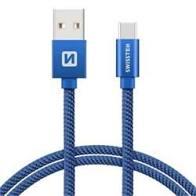 Datový kabel USB/Type C Swissten 2m