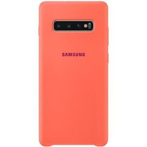 EF-PG975THE Samsung Silicone Cover pro G975 Galaxy S10 Plus Berry